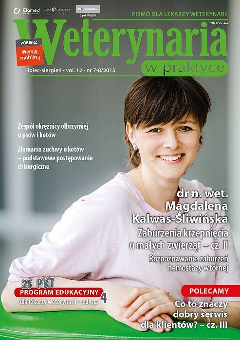 Weterynaria w Praktyce wydanie nr 7-8/2015