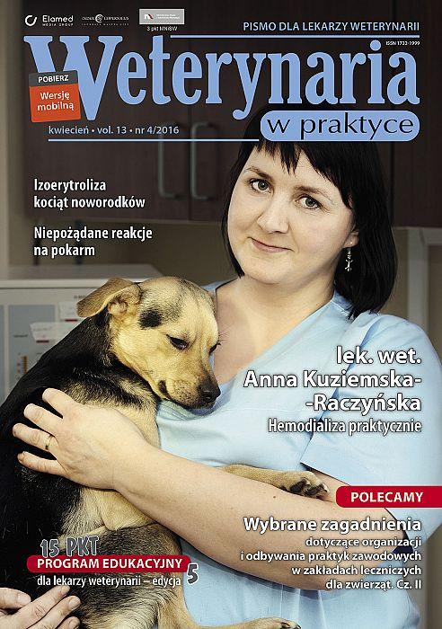 Weterynaria w Praktyce wydanie nr 4/2016