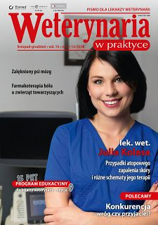 Weterynaria w Praktyce wydanie nr 11-12/2018