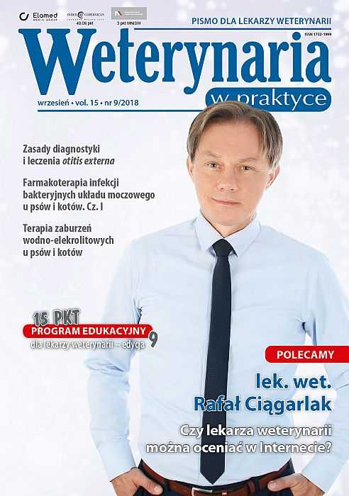 Weterynaria w Praktyce wydanie nr 9/2018