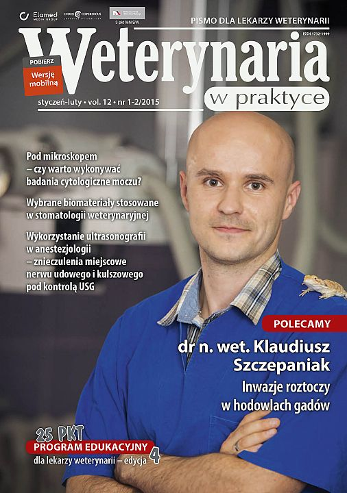 Weterynaria w Praktyce wydanie nr 1-2/2015