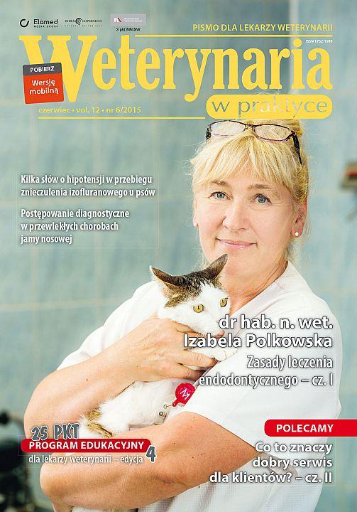 Weterynaria w Praktyce wydanie nr 6/2015