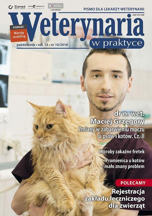 Weterynaria w Praktyce wydanie nr 10/2016