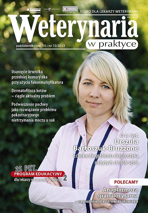 Weterynaria w Praktyce wydanie nr 10/2013