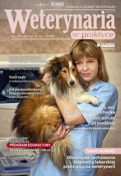 Weterynaria w Praktyce wydanie nr 1-2/2013