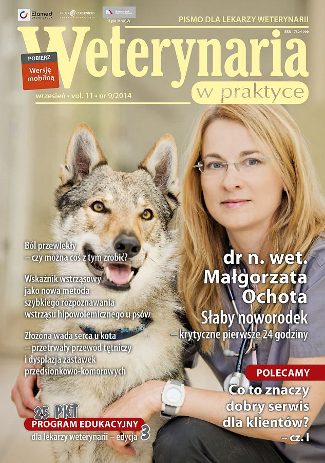 Weterynaria w Praktyce wydanie nr 9/2014