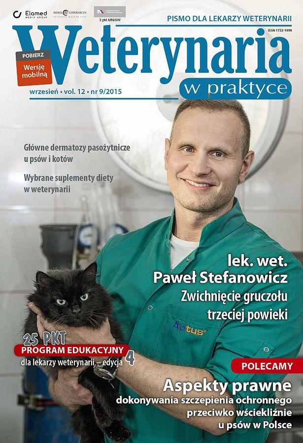 Weterynaria w Praktyce wydanie nr 9/2015