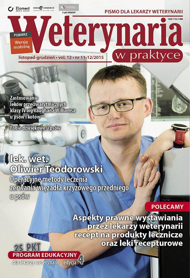 Weterynaria w Praktyce wydanie nr 11-12/2015