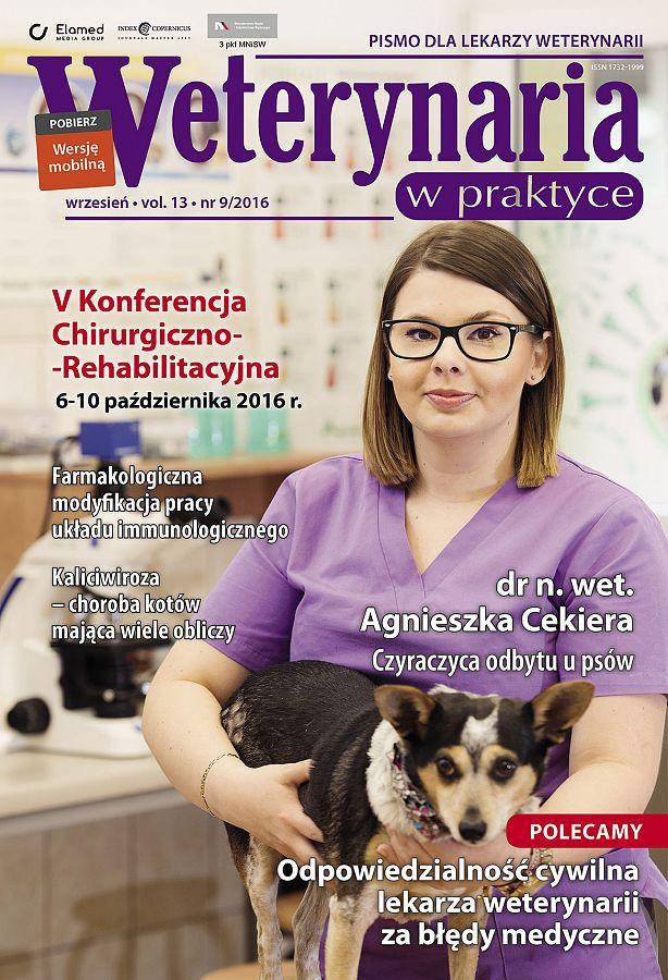 Weterynaria w Praktyce wydanie nr 9/2016