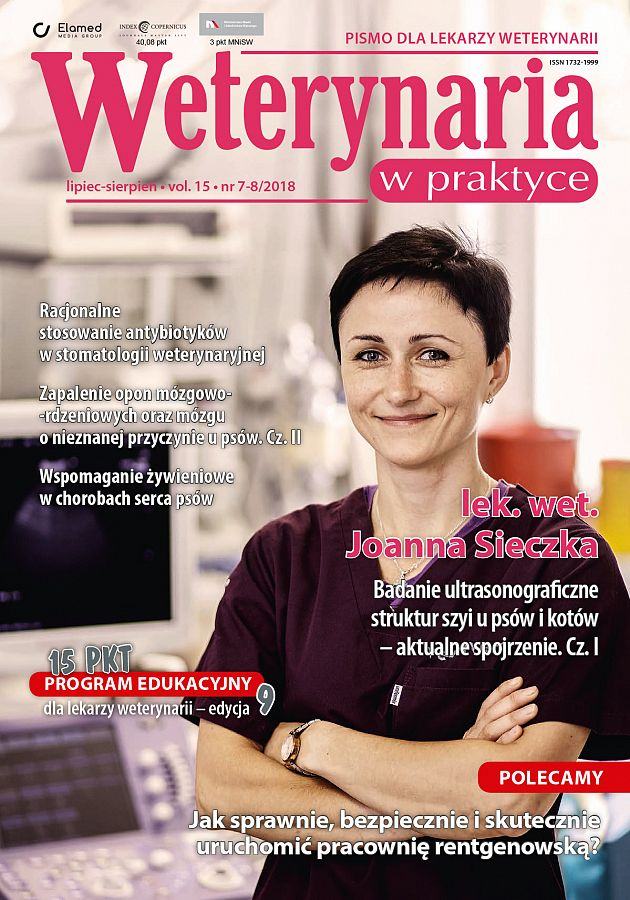 Weterynaria w Praktyce wydanie nr 7-8/2018