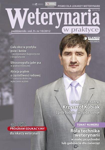 Weterynaria w Praktyce wydanie nr 10/2012